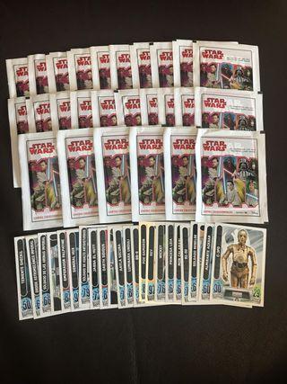 Cromos Star Wars El Camino de los Jedi
