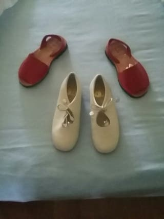 zapatos y sandalias niña verano