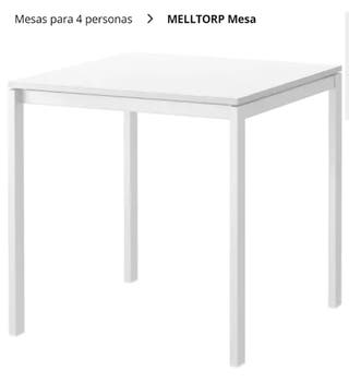 Mesa comedor Ikea de segunda mano en Avilés en WALLAPOP