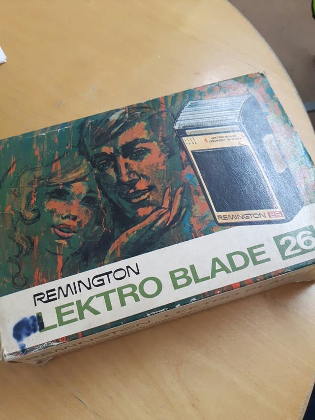 vintage remington lektro blade 26
