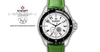 Reloj Brenatt Esmeralde en caja original