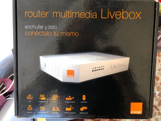 Router Livebox multimedia