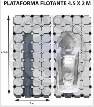 Plataforma moto agua