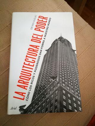 Libro La arquitectura del poder. Deyan Sudjic