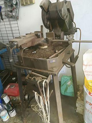 máquina de disco para hierro
