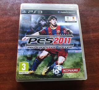 Pro evolution soccer 2011. PS3.