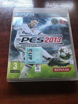 Pro evolution soccer 2013. PS3.