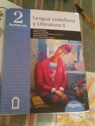 Libro Lengua Castellana y Literatura 2 Bach