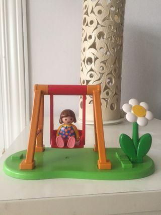 Playmobil 123 set parque infantil.