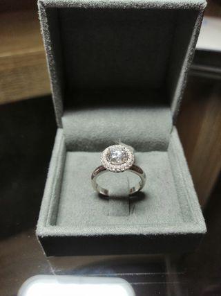 ca6b99db0bff Anillo diamantes de segunda mano en Madrid en WALLAPOP