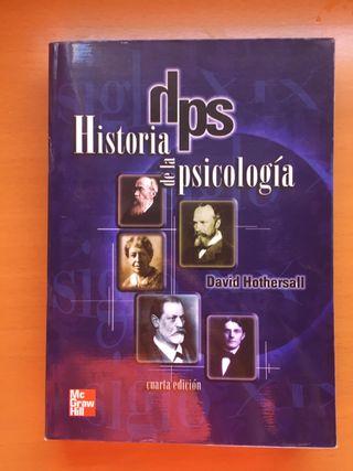 Libro historia de la psicología