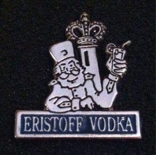 PIN ERISTOFF VODKA
