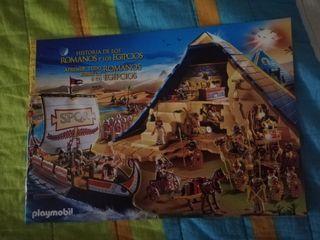 CATÁLOGO PLAYMOBIL HISTORIA ROMANOS Y EGIPCIOS