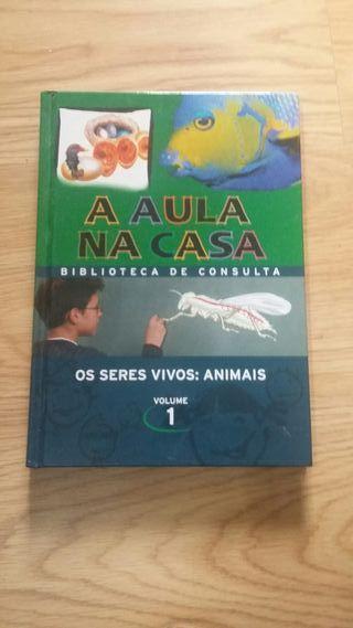 Libro infantil de animais