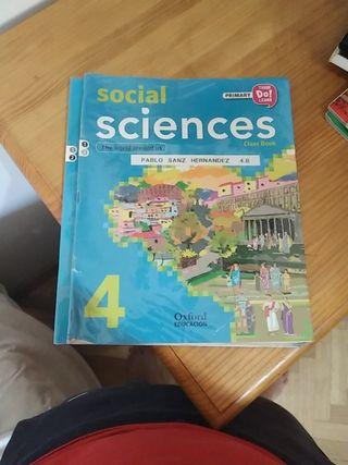 libros geografía e historia 4° de primaria