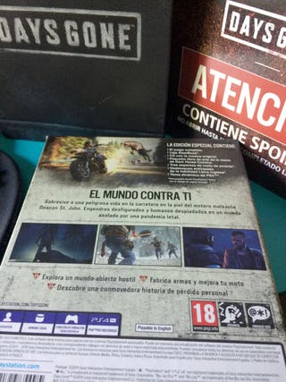 Days Gone Special Edition PS4 PAL España