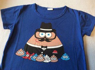 Camiseta Pou Talla 4-5 años