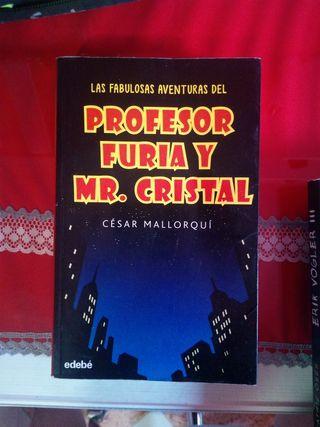 profesor furia y mr. cristal