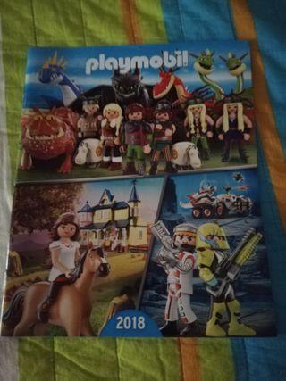 CATÁLOGO GRANDE PLAYMOBIL 2018