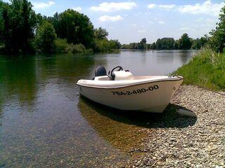 Barca motor 4 tiempos