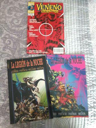 Comics La Legión de la Noche
