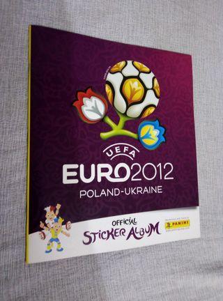 album cromos euro 2012 Polonia y Ucrania panini