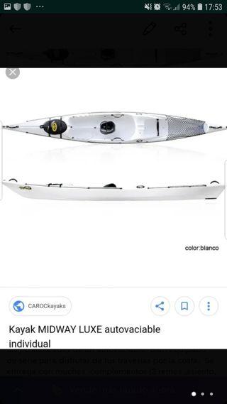 kayak de travesía y pesca