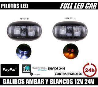 GALIBOS LED DE COLOR BLANCO , AMBAR , HOMOLOGADOS