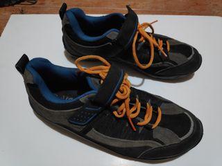 Zapatillas automaticas MTB montaña 42