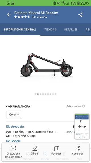 25db7b0bbde4 Patinete scooter de segunda mano en la provincia de Sevilla en WALLAPOP