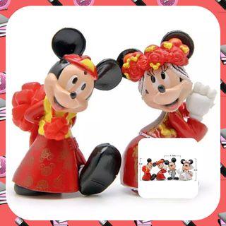 Figuras Mickey y Minnie