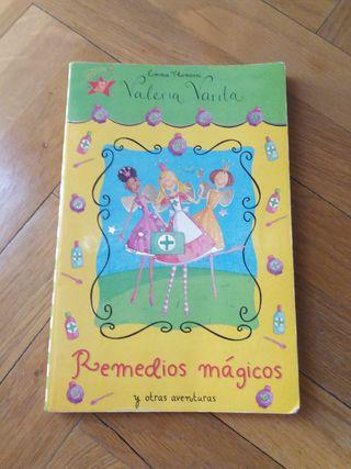 Libro Valeria Varita REMEDIOS MÁGICOS