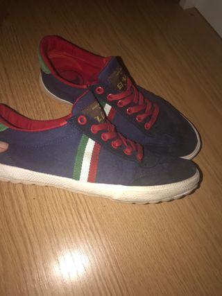 Zapatillas El Ganso azules