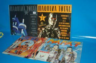 Vinilos discos LPs -recopilatorios MAQUINA TOTAL