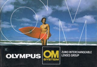 4 vintage catalogos Olympus OM System 79-82