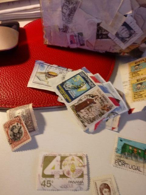 Gran lote de sellos antiguos