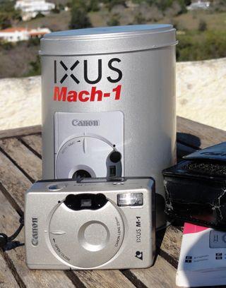 Canon EOS Mach 1 en caixe metal - coleccion