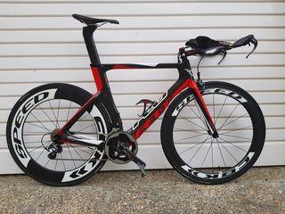Bicicleta triatlon talla 54 Felt B14 2016