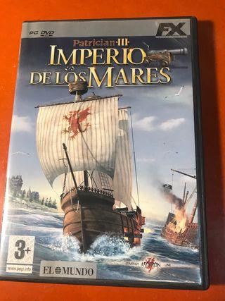 Videojuego Imperio de los Mares para Pc