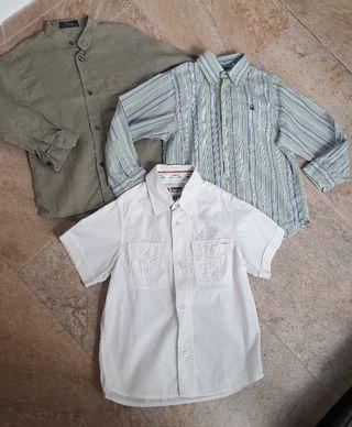 Camisas niño T4
