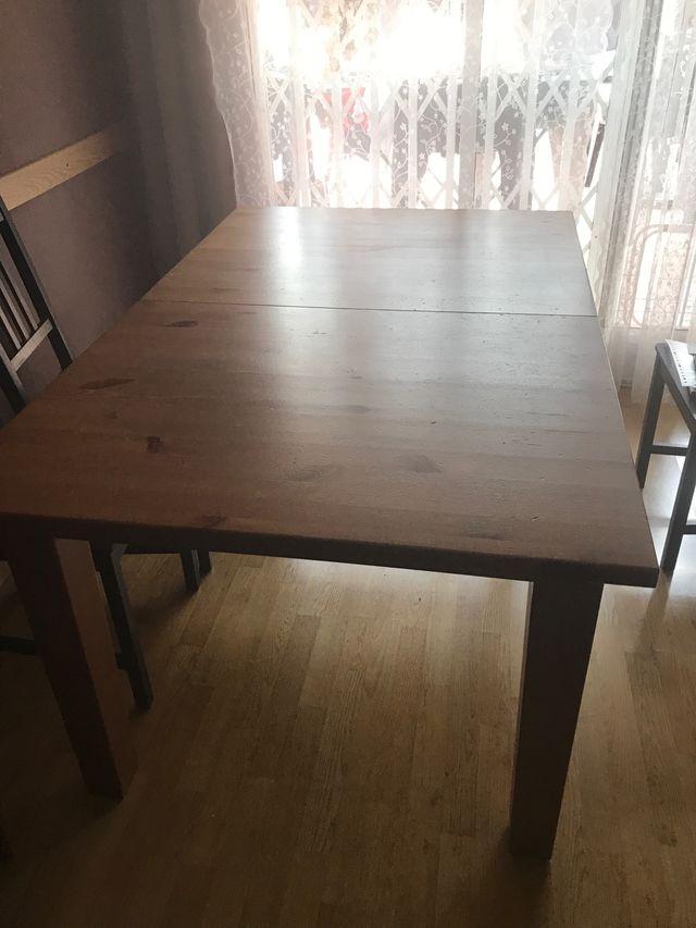Mesa Comedor Extensible Ikea Vendo Por Mudanza De Segunda Mano Por