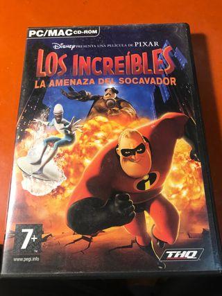 Videojuego de Los Increibles (PC)