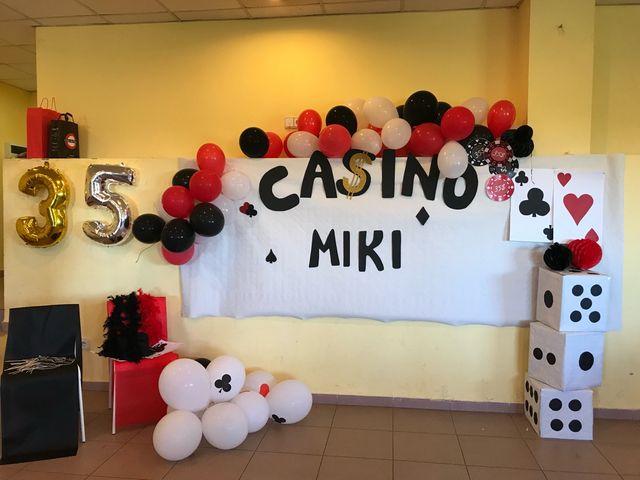 Decoracion Casino Fiesta Cumpleaños De Segunda Mano Por 15