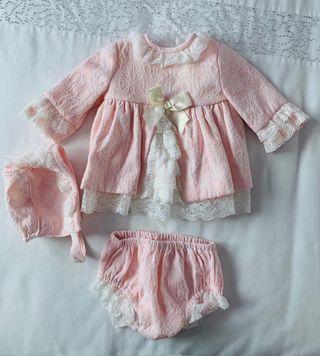 Vestido Dolce Petit talla 1 mes (da talla)