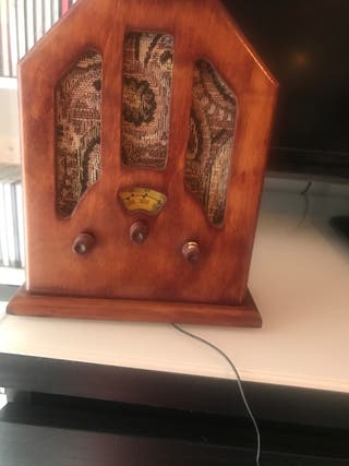 Radio imitación antigua