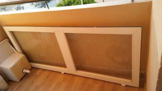 puerta aluminio con o sin fijo lateral
