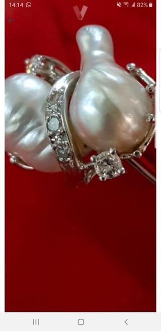 14de55c56a77 Anillo de brillantes diamantes de segunda mano en WALLAPOP
