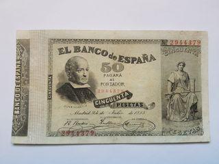 50 pesetas 1893 Jovellanos