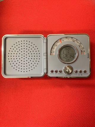 Radio Reloj despertador Analógico digital