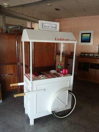 candy bar o carrito de dulces